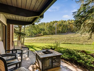 Photo for Snowmass Mountain Out Your Back Door! Large Patio, Fireplace, Parking, Outdoor Hot Tub, Ski-In/Out