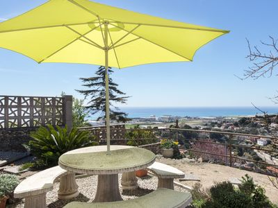 Photo for • House  House located in a quiet residential area of Santa Susanna, with sea vie