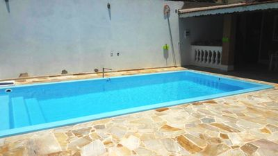 Photo for I RENT HOUSE WITH BEAUTIFUL AREA OF SWIMMING POOL AND CHURRASQUEIRA