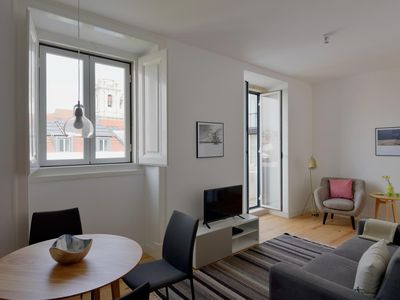 Photo for Santa Catarina Sol apartment in Bairro Alto with WiFi & balcony.
