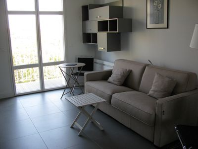 Photo for ARCACHON - DIRECT BEACH - NEAR DOWNTOWN - NICE STUDIO WITH PARKING.