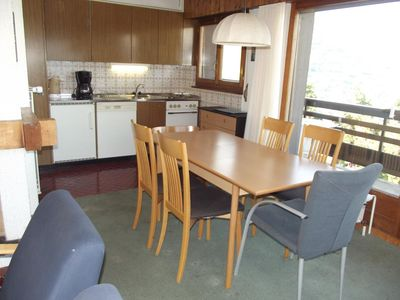 Photo for 2*, 1-bedroom-apartment for 4-6 people located in the centre of town, at 300m from the skilift. Brig