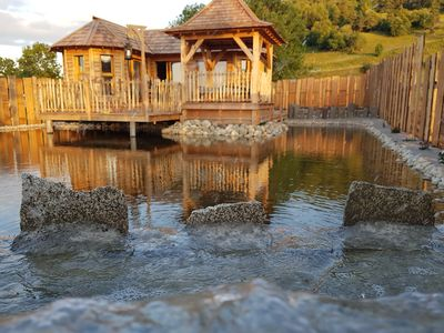 Photo for Log Cabin-Deluxe-Wet room-Mountain View