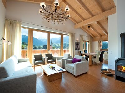 Photo for Holiday apartment with sauna in Maria Alm for 6-8 pers., Hochkönigcard incl.