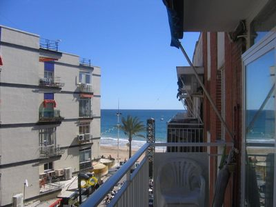 Photo for Central Benidorm 3 Double bedroomed apartment in Seafront building.