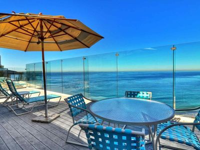Photo for Dana Point Luxury Oceanfront Condo with Pool and Incredible Views!