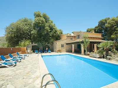 Photo for Traditional Villa w/pool & BBQ house, 10 minutes drive to Puerto Pollensa
