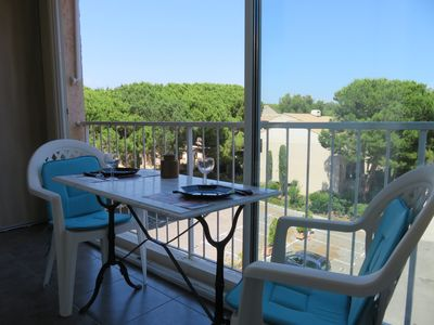 Photo for BEAUTIFUL T2 REDONE IN PARK WITH SWIMMING POOL PARKING WIFI - 200 m BEACHES