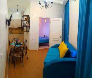 Photo for This very cozy one bedroom apartment located in the tourist center of Tbilisi