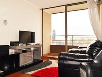 The apartment's very good and tidy, really well localized and the host was a lot supportive and even
