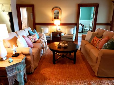 Photo for 2bd/1ba Family Suite with garden view