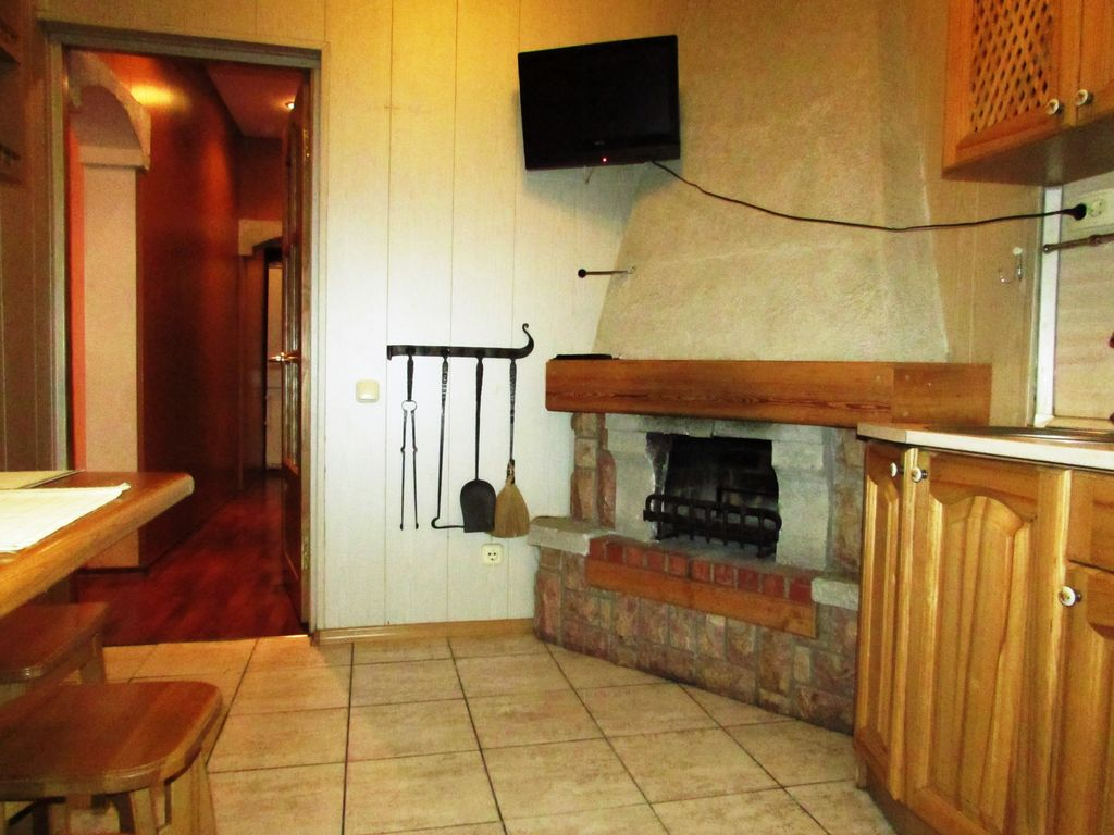 Apartment with a fireplace. Summer Park