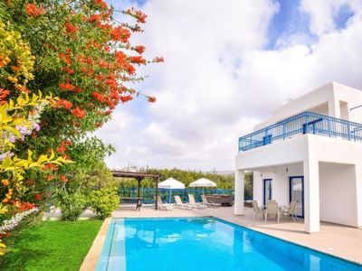 Photo for Vacation home Azzurro Luxury Holiday Villas in Peyia - 8 persons, 4 bedrooms