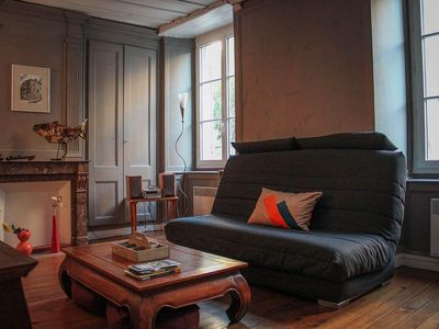 Photo for Beautiful 2 rooms in the historic district of Granville