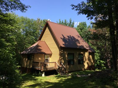 Photo for Beautiful Log Cabin - minutes to Holiday Valley & Ellicottville - 2 King Beds!