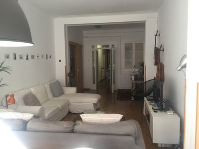 Photo for Centric flat in Barcelona for 7/8 people