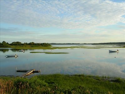 Photo for On Menemsha Pond, Chilmark-- Sunsets from Deck -- Private