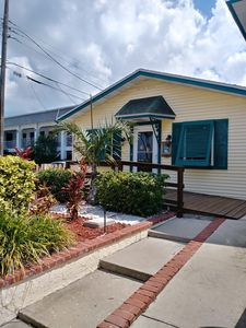 Photo for Steps from St. Pete Beach Private 1st floor home with huge back yard!