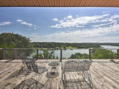 Photo for 'The Cloud House' Spicewood Home w/Lake Views!