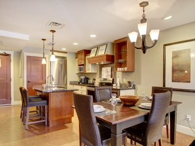 Photo for Rockies Rentals: Luxury Solara Suite with Hot Tub, Pool, and Private Balcony!