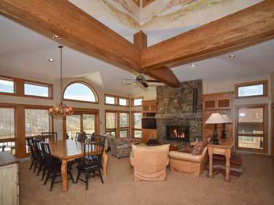 Photo for Luxurious Holimont Ski In/Out Mountain Mansion