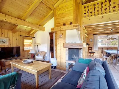 Photo for Perfectly located in a quiet area, close to the Palais des Sports, chalet 2 bedrooms mezzanine