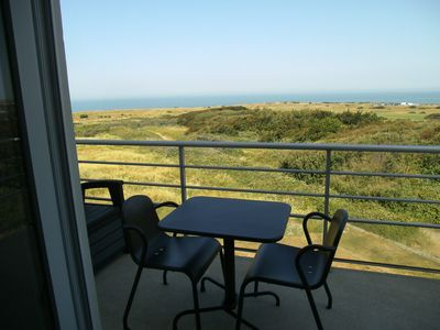Photo for Duplex with exceptional view on the sea and the dunes of Slack