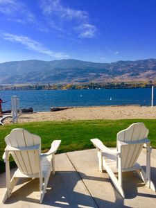 Photo for Osoyoos Beachside Cottage *Almost lakefront!*