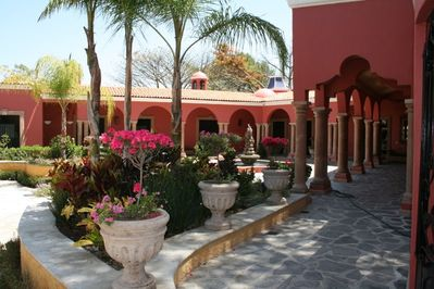 Courtyard Entry