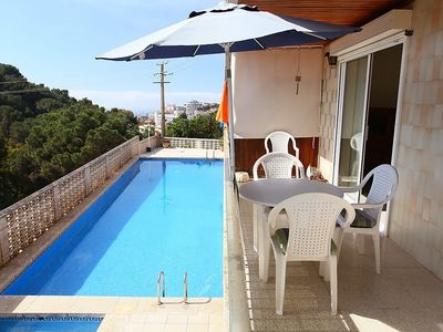 Photo for Apartment 537 m from the center of Lloret de Mar with Washing machine, Pool, Balcony (309254)