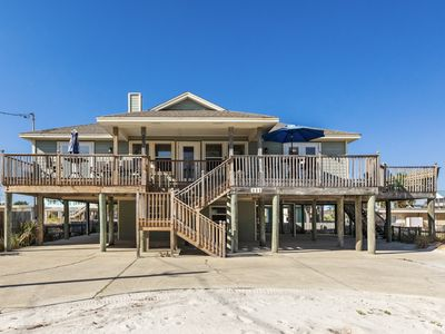 Photo for Pet-Friendly Beach Home, Wrap-around Porch, Stunning Views of the Gulf