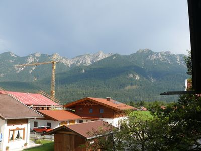 Photo for Very central but quiet apartment for 1-4 pers. with great mountain views
