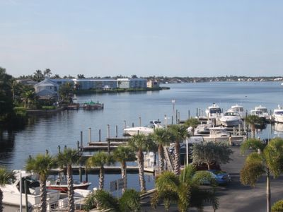 Photo for Waterfront Condo at Beau Mer~Nautical Themed, In Old Naples, Off 5th, Near Beach