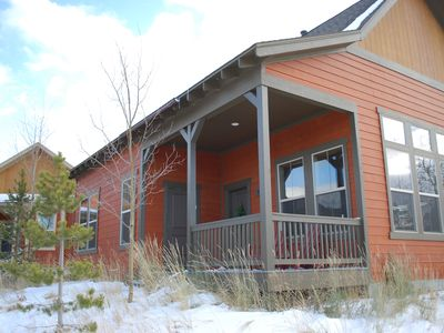 Photo for Premier Location Ski In/Out, 3 Bdrm/3 Bath Cabin w/New Hot Tub!
