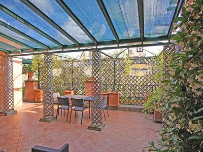 Photo for Apartment Erminia, in central area in Rome, with two terraces, it can host 4 people.