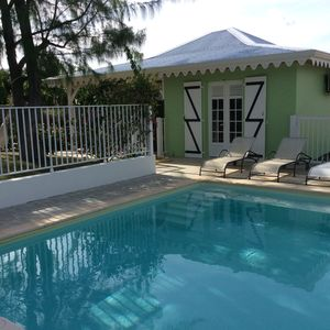 Photo for Chamante Creole villa with private pool and secure, near the beaches of the south