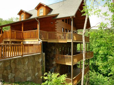 Photo for Gatlinburg Cabin in the mountains  REDNECK RITZ 724