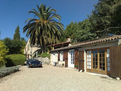 Photo for Old Stone Provence Cote D'Azure House adjoining Cottage Pool and Stunning Views