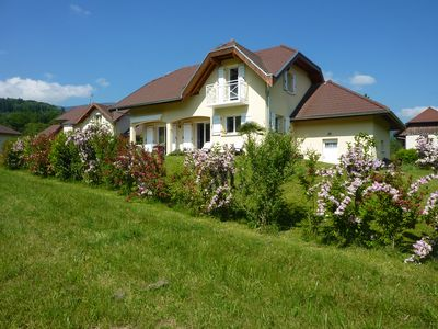 Photo for Beautiful villa 800m superb view of Lake Annecy