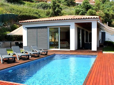 Photo for Villa with private pool and beautiful sea views and a perfect location