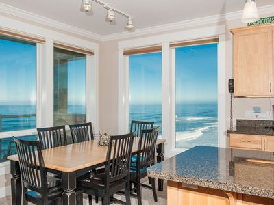 Photo for *Promo!* Top Floor Corner Condo, Oceanfront, Private Hot Tub, Indoor Pool, Wifi