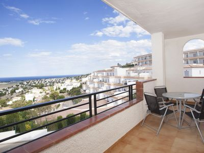 Photo for Two Bedroom Sea View Apartment (internal space from 60m2 and terrace from 15m2 )