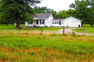 The FarmHouse. Home away from Home. But you don't have to mow or do the chores :)