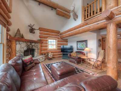 Photo for Montana Getaway With Panoramic Mountain Views! Great Ski Access And Hot Tub.