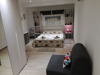 Photo for CASA GIULIANA Trieste center, modern, well served area, 60 square meters 1-5 beds