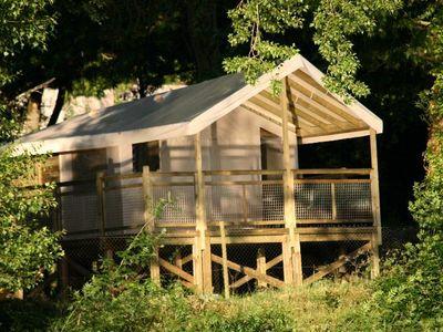 Photo for Camping Isle Verte **** - Ecolodge Luxury 3 rooms 4 persons