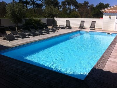 Photo for villa with swimming pool 600 meters from the beach