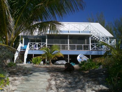 ReefHouse from the beach