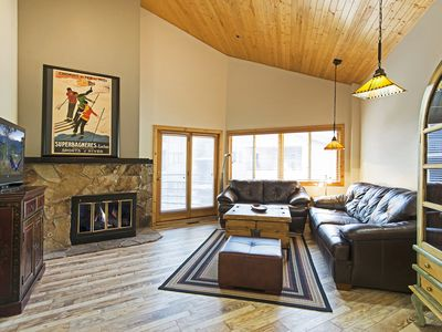 Photo for Deer Valley Courcheval Condo - Steps away from Resort!