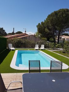 Photo for luxury villa with pool terrace private garden secure parking